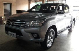 Sell Silver 2016 Toyota Hilux Manual Diesel at 47000 km