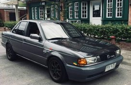 Sell Grey 1995 Nissan Sentra Sedan at 190000 km