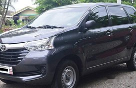 Grey Toyota Avanza 2017 for sale in Laoag