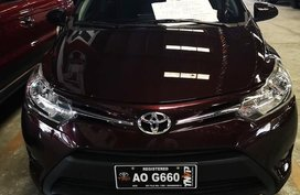 Red Toyota Vios 2017 Sedan for sale in Manila