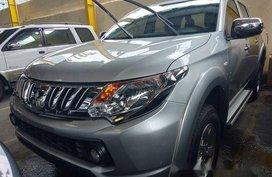 Silver Mitsubishi Strada 2016 Manual Diesel for sale