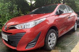 Sell Red 2019 Toyota Vios Automatic Gasoline at 2400 km