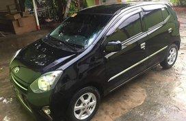 Selling Black Toyota Wigo 2016 at 19000 km