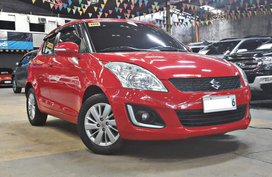 Red 2018 Suzuki Swift at 40000 km for sale in Quezon City