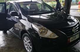 Selling Black Nissan Almera 2018 Manual Gasoline in Zambales