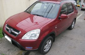 Sell Red 2003 Honda Cr-V at 105000 km in Makati