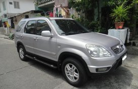 Silver 2003 Honda Cr-V Automatic for sale in Makati