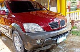 Selling Red Kia Sorento 2007 at 80000 km in Cebu