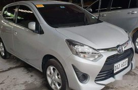 Silver Toyota Wigo 2019 Manual for sale