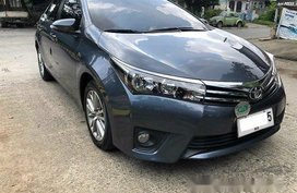 Blue Toyota Corolla Altis 2014 Automatic Gasoline for sale