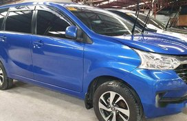 Selling Blue Toyota Avanza 2018 at 13000 km