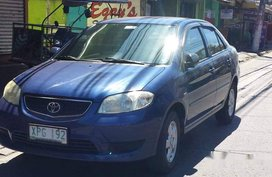Blue Toyota Vios 2004 at 90000 km for sale