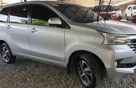 Silver Toyota Avanza 2017 at 8800 km for sale
