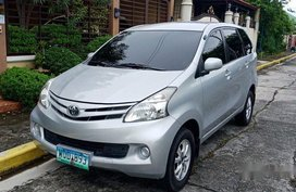 Silver Toyota Avanza 2014 Automatic Gasoline for sale
