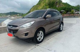 Sell Brown 2011 Hyundai Tucson at 60000 km