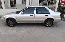 Silver Honda City 2002 Automatic Gasoline for sale
