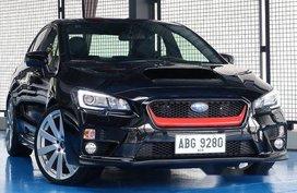 Selling Black Subaru Wrx 2015 Automatic Gasoline