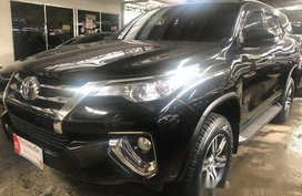 Sell Black 2018 Toyota Fortuner Automatic Diesel at 5000 km