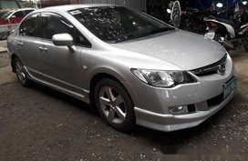 Sell Silver 2010 Honda Civic at 46000 km