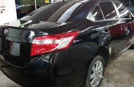 Black Toyota Vios 2016 Automatic Gasoline for sale