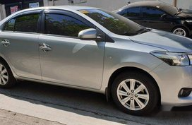 Silver Toyota Vios 2015 at 16000 km for sale
