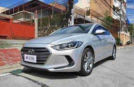 Selling Silver Hyundai Elantra 2016 Automatic Gasoline