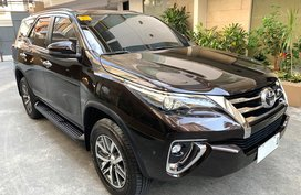 Selling Toyota Fortuner 2018 at 691 km in Manila