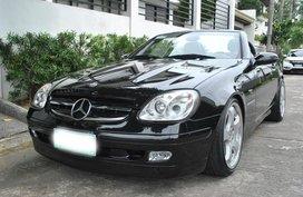 Black 1999 Mercedes-Benz Slk-Class at 75000 km for sale