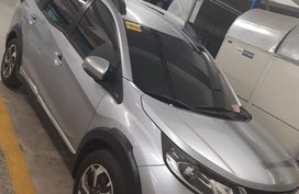 Silver 2017 Honda BR-V Automatic Gasoline for sale