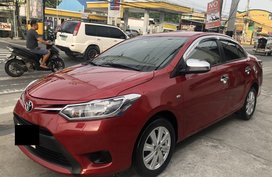 Sell Red 2014 Toyota Vios Manual Gasoline