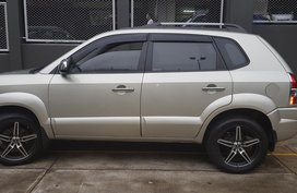 Silver 2009 Hyundai Tucson Automatic Diesel for sale