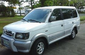 White Mitsubishi Adventure 2000 Manual Gasoline for sale