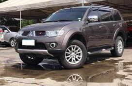 Grey Mitsubishi Montero Sport 2013 for sale in Makati