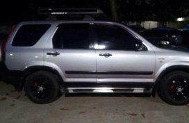 Selling Silver Honda Cr-V 2003 Automatic Gasoline