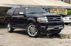 Black Ford Expedition 2016 Automatic Gasoline for sale