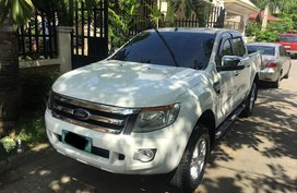White 2014 Ford Ranger at 84000 km for sale