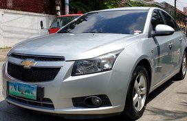 Silver 2010 Chevrolet Cruze for sale in Quezon City