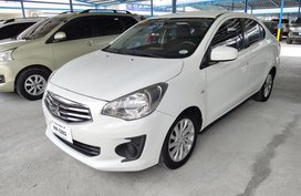 White 2016 Mitsubishi Mirage G4 Automatic Gasoline for sale