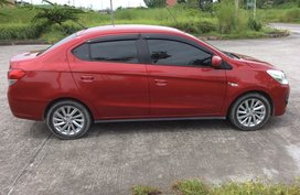 Red Mitsubishi Mirage G4 2017 Sedan at 22800 km for sale