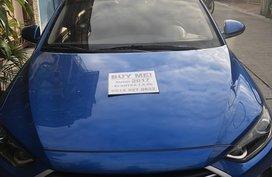 Blue 2018 Hyundai Elantra Sedan at 3500 km for sale