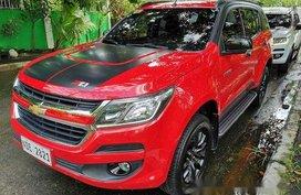 Selling Red Chevrolet Trailblazer 2017 at 40000 km