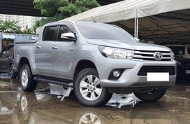 Silver Toyota Hilux 2015 Automatic Diesel for sale