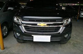 Black Chevrolet Trailblazer 2017 Automatic Diesel for sale