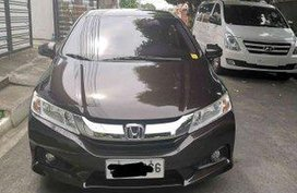 Sell Brown 2016 Honda City at 18268 km
