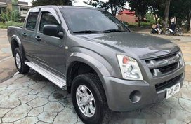 Grey Isuzu D-Max 2010 Manual Diesel for sale in Talisay
