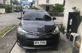 Selling Grey Toyota Vios 2015 Manual Gasoline at 68600 km