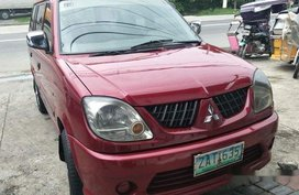 Selling Red Mitsubishi Adventure 2006 at 85000 km