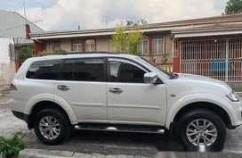 Selling White Mitsubishi Montero Sport 2014 Automatic Diesel at 78000 km