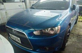 Sell Blue 2014 Mitsubishi Lancer Ex at 34000 km