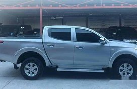 Grey Mitsubishi Strada 2016 Manual Diesel for sale